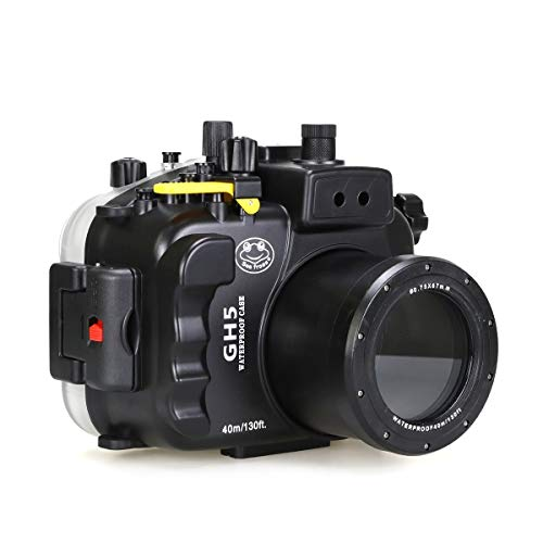 - Sea frogs for Panasonic Lumix GH5 & GH5S 40m/130ft Underwater Camera Housing with Standard Port