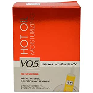 Amazon.com : Alberto VO5 Moisturizing Hot Oil Treatment, 0.5 Ounce, 2Count Tubes Pack of 6