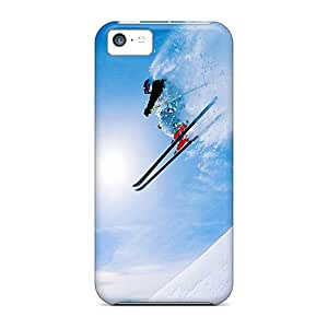 Iphone Case - Tpu Case Protective For Iphone 5c- Skiing