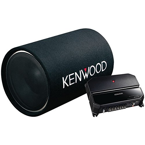 Kenwood 12-Inch Cylindrical Subwoofer and 2-Channel - Watt Bass Amplified 200 Tube