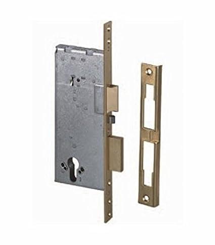 Cerradura eléctrica para deslizar Ambidiestro Mis. 60 mm Cisa Art.12011 60S.C