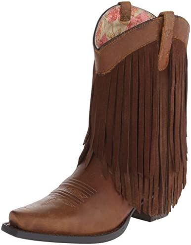 The Ariat gold rush western boot is seriously one of the