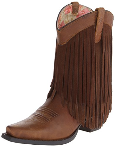 (ARIAT Women's Gold Rush Western Boot Terra Brown Size 6.5 B/Medium Us)