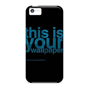 OhdiBex6267gBpJN Charejen Awesome Case Cover Compatible With Iphone 5c - Abstract 3d