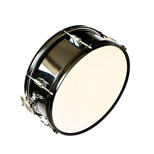 LVSSY-14 Inch Snare Drum Straps Snare Drum Band Percussion Drums with Gloves Drum Key Strap
