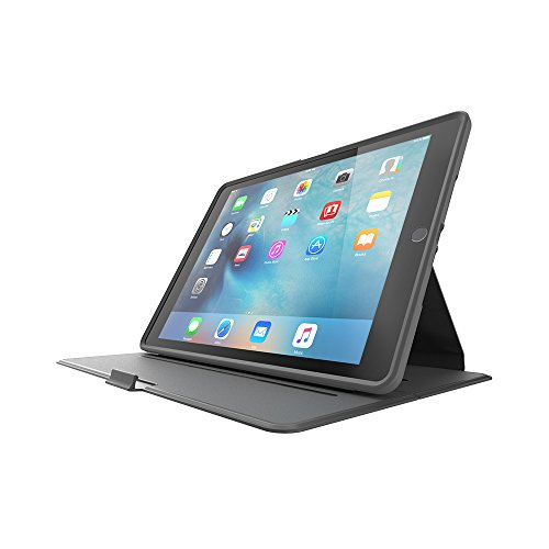 - OtterBox PROFILE SERIES Slim Case for iPad Air 2 - Retail Packaging - MIDNIGHT MERLOT (GUNMETAL GREY/MERLOT)