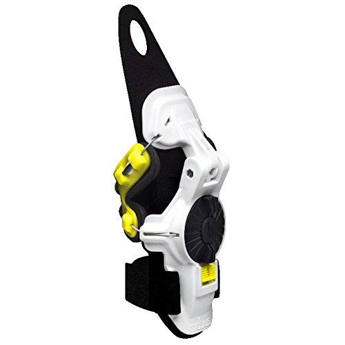Mobius X8 Wrist Brace (Medium/Large) (White/Acid Yellow)