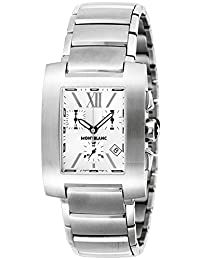 MONTBLANC watch PROFILE Silver Dial 7134 Ladies