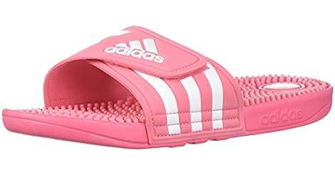b615e2e3854d97 adidas Women s Adissage W Slide Sandal (Chalk Pink   Cloud White   Chalk  Pink) from adidas.com for  15.00