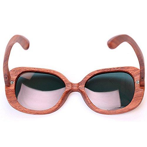 Estilo de a la sol sol gafas la Retro las de ULTRAVIOLETA de de las señora mano bambú sol de madera para de de polarizadas de Elegante hechas so gafas gafas Gafas las protección Unisex de que conducen RWRxw8rOT