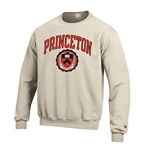 Champion Princeton University Tigers Sweatshirt-Oatmeal
