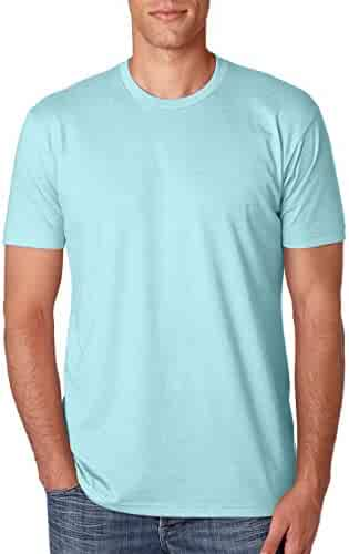 Next Level Apparel N6210 Mens Premium CVC Crew - Ice Blue, Large