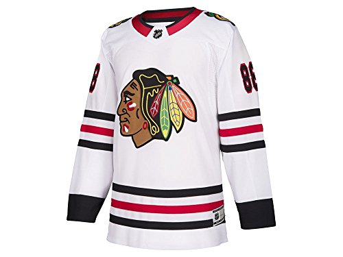 Patrick Kane Chicago Blackhawks #88 NHL Youth Premier Away Jersey White (Youth L/XL)