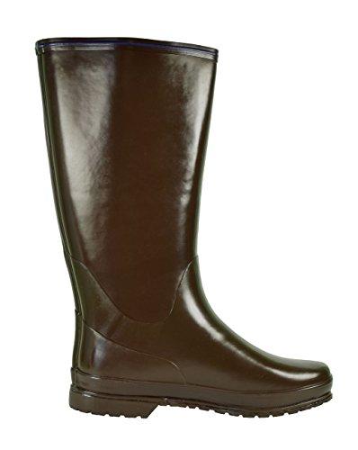 Tretorn - Botas de caucho para mujer - Dark Brown