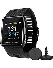 Shot Scope V3 GPS-horloge - F/M/B + Hazard Distances - Automatic Shot Tracking - 100+ statistieken - 36.000+ vooraf geladen cursussen - Geen abonnementen