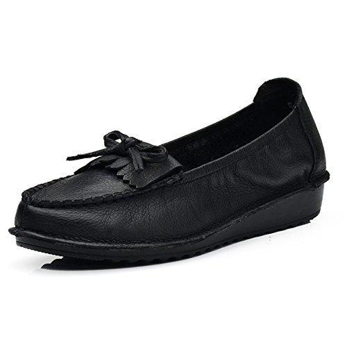 Caída zapatos planos/ zapatos de baja con su madre/Retros zapatos soft-soled C