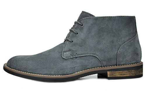 Urban Men's grey Bruno Oxfords Boots Desert Marc Lace Suede 1 Up Leather aExZOqwx