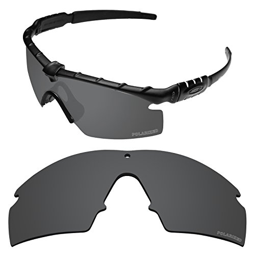 Tintart Performance Replacement Lenses for Oakley Si Ballistic M Frame 3.0 Sunglass Polarized Etched-Carbon Black (Ballistic Lens)