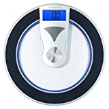 Etekcity Digital Body Weight Bathroom Scale: Modern Design, 400 Pounds, Bla ....