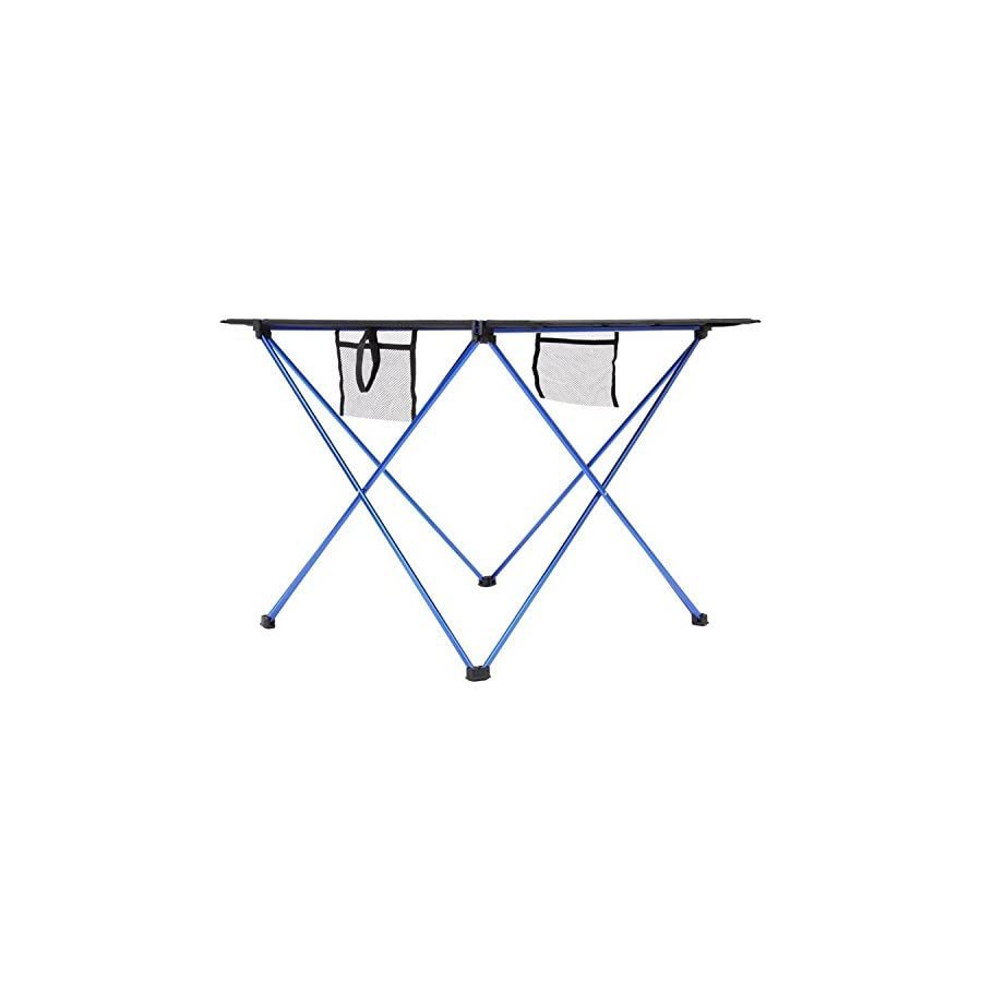 Camp Solutions Foldable Camping Picnic Tables Portable Compact Lightweight Folding Roll up Table in a Bag – Small, Light, and Easy to Carry for Camp, Beach, Outdoor