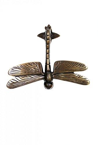 Door Knockers Antique Brass Dragonfly Door Knocker 4 7/8H 6 3/8W
