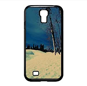 Winter Scenes Watercolor style Cover Samsung Galaxy S4 I9500 Case (Winter Watercolor style Cover Samsung Galaxy S4 I9500 Case)
