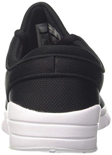 Nike Stefan Janoski Max (GS), Zapatillas de Skateboarding Para Niños Negro (Black/White 001)