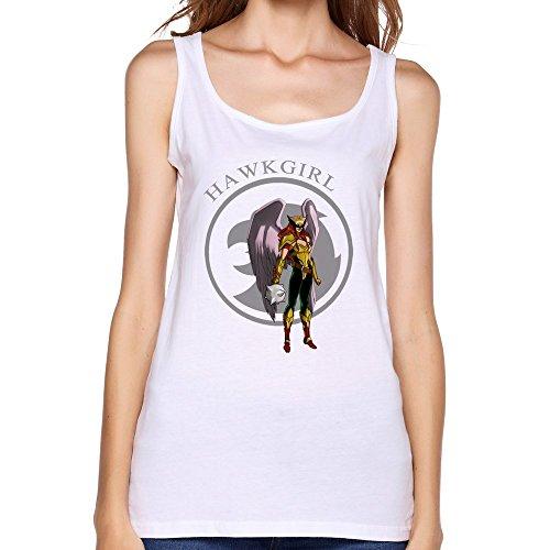 Qincent Women Tank Top Slim Fit T-shirt (Hawkgirl T Shirt)