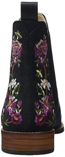 donna Stivali Joules Floral Floral da Black Black Woodland Chelsea Blkwdfl Westbourne Wellibob 1775aUwq