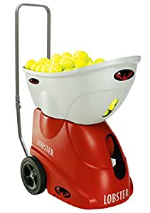 Lobster Sports Elite Freedom Portable Tennis Ball Machine (21x14 x 20- Inch)