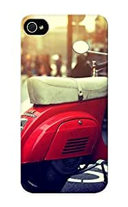 Premium EbPXgcy3707GHuhu Case With Scratch-resistant/ Red Vespa Case Cover For Iphone 5/5s