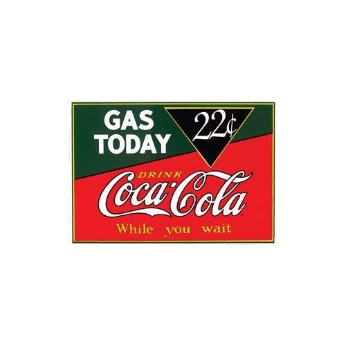 Imán de Coca-Cola Gas Hoy Porcelana Nevera: Amazon.es: Hogar
