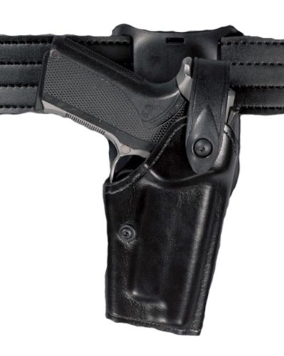 Safariland 6285 Level II SLS Retention Duty Holster, 1.50-Inch Belt Drop, Black, STX Tactical, Glock 19, Right Hand (Holster Drop Duty Belt 6285)