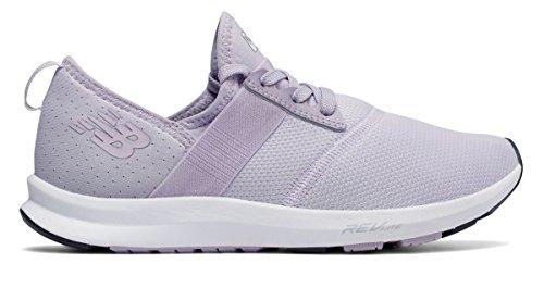 エジプト人スカウト累計(ニューバランス) New Balance 靴?シューズ レディーストレーニング FuelCore NERGIZE Thistle with White ホワイト US 8 (25cm)