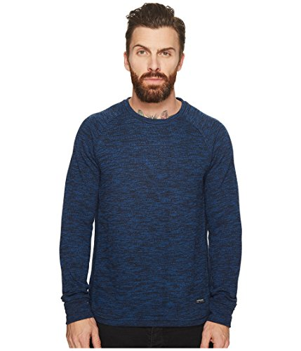 Scotch & Soda Men's Sweat in Brushed Melange Felpa Quality, Combo c, M by Scotch & Soda