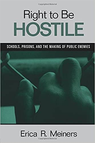 Book Right to Be Hostile: Schools, Prisons, and the Making of Public Enemies