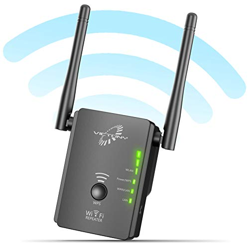 VICTONY WA305 WiFi Extender 300Mbps WiFi Signal Booster 2.4 G Frequency with 2 x External Antennas