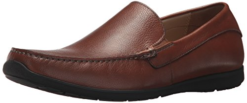 ECCO Men's Dallas Moc Driving Style Loafer, Lion, 45 EU/11-11.5 (Driver Loafer)