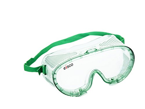 EISCO Chemical Resistant, Safety Goggles with Anti-Fogging Vents, Universal Fitting over Prescription Glasses, Perfect for Laboratory or Outdoor Use Price & Reviews