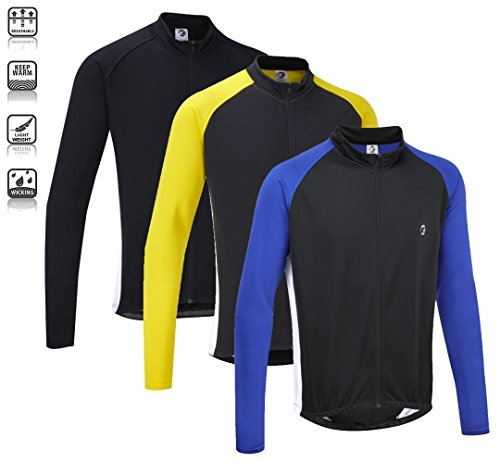Tenn Unisex Winter Weight Long Sleeve Cycling Race Jersey