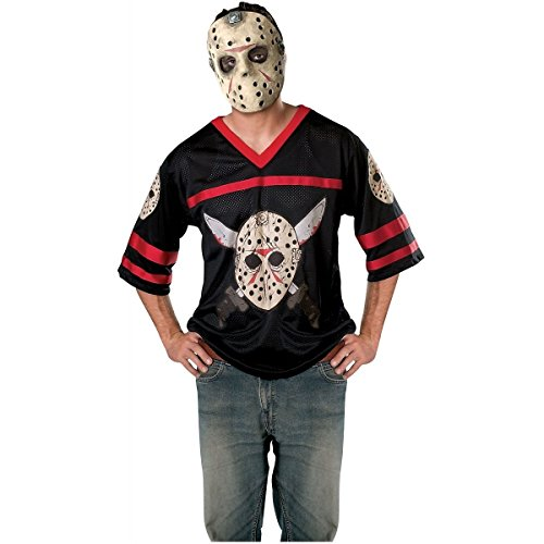 GSG Jason Hockey Jersey Mask Costume Friday the 13th Adult Mens Scary Halloween