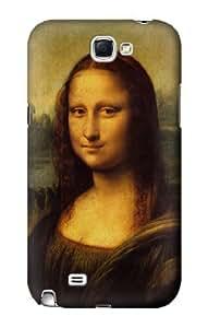 S0170 Leonardo da Vinci Mona Lisa Case Cover for Samsung Galaxy Note 2 Kimberly Kurzendoerfer