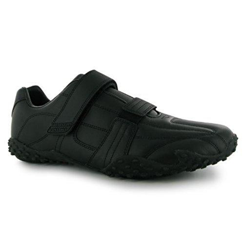 Schwarz Herren Klett Sneaker Schwarz Fulham Schuhe Lonsdale p1qwdYY