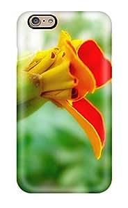 Hot Fashion Tpu Case For Iphone 6- Strange Flowers Defender Case Cover 8122094K31493451