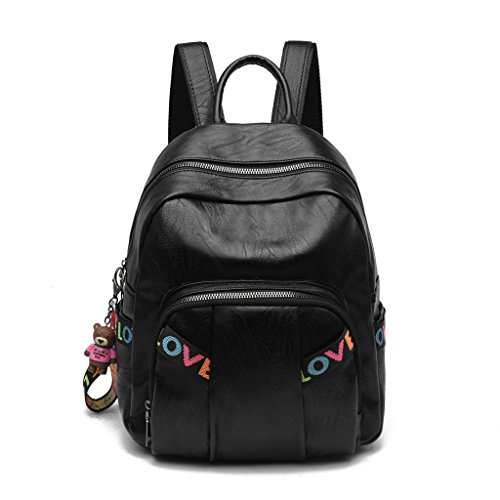 Leather Large Wild Leisure Xxpp Soft Shoulder The Bag Simple Backpack Capacity Female OwnXAqx8