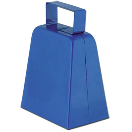 Cowbells (blue) Party Accessory  (1 count)]()