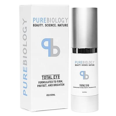 "Best Cheap Deal for Pure Biology ""Total Eye"" Anti Aging Eye Cream Infused with Instant Lift Technology & Baobab Fruit Extract - Immediate & Lasting Reduction in Fine Lines, Puffiness & Dark Circles from Pure Biology - Free 2 Day Shipping Available"