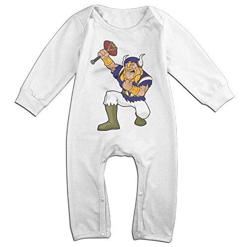 OLGB Newborn Carton Minnesota Long Sleeve Bodysuit Outfits 6 M (Carton Custom)