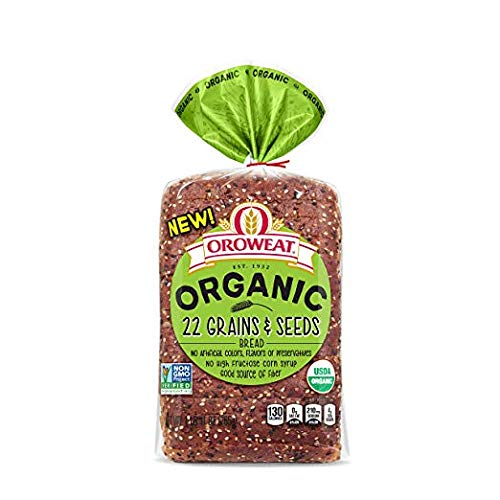 Arnold Organic 22 Grains & Seeds Bread, 27 oz - 2 Loaves Arnold Whole Grain Bread