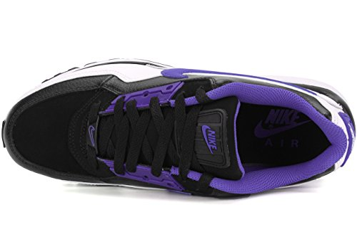 NIKE 695484-051 : Mens Air Max Ltd 3 Premium Sneaker Black/Persian Violet-White zpKAQ7GM31
